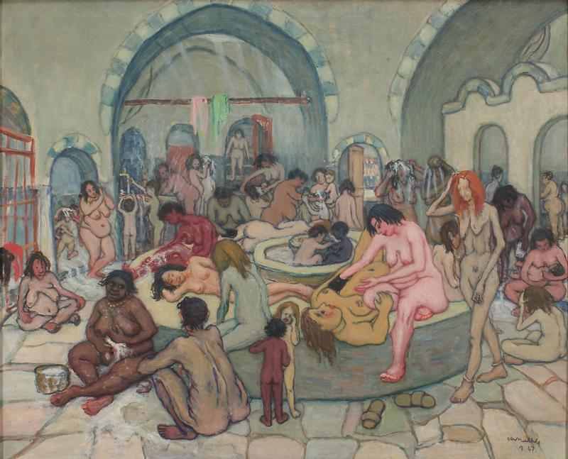 Au-delà du signe : généalogies esthétiques et politiques de l'abstraction au Moyen-Orient